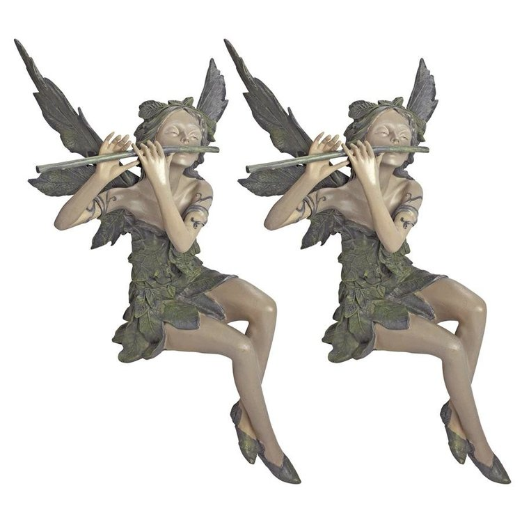 View larger image of Fairy of the West Wind Sitting Statues