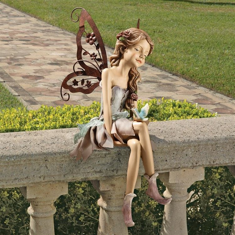 View larger image of Fannie, the Fairy Sitting Statue