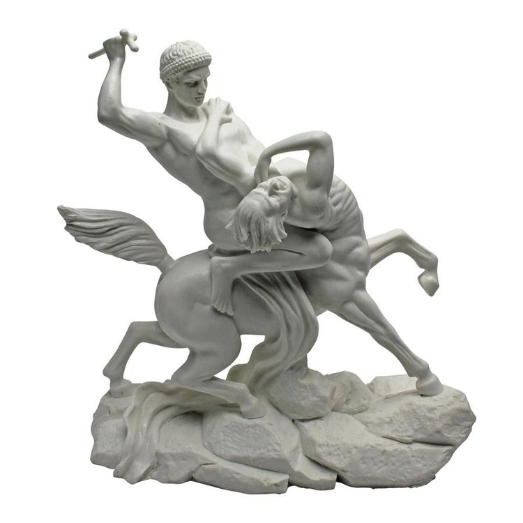 View larger image of Fighting Centaur Bonded Marble Statue