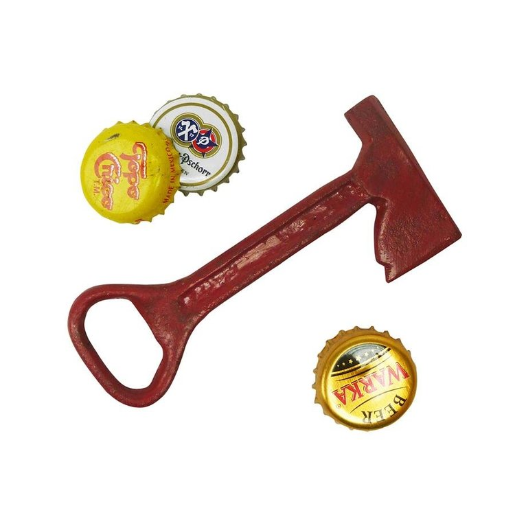 View larger image of Fireman Ax Cast Iron Bottle Opener