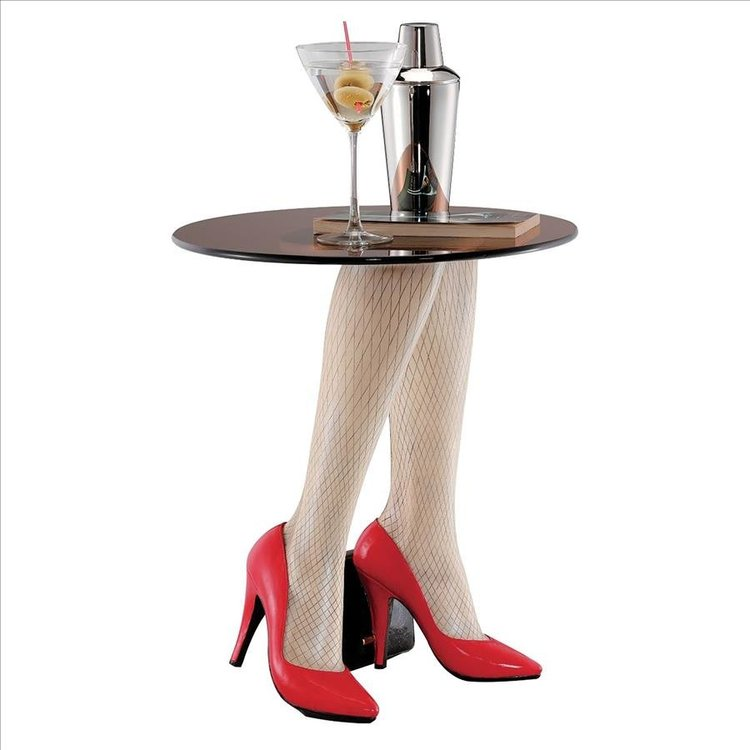 View larger image of Fishnets & Heels Sculptural Table