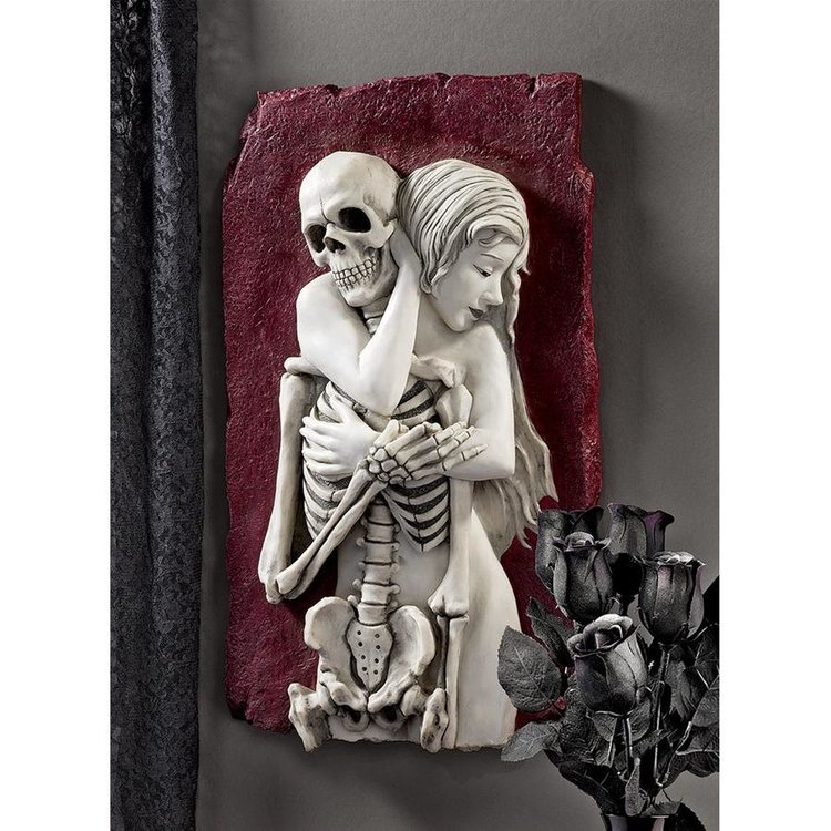 View larger image of Flesh and Bone Skeleton Wall Sculpture