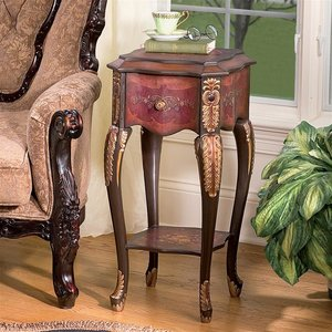 Floral Bouquet Chiffoniere Side Table