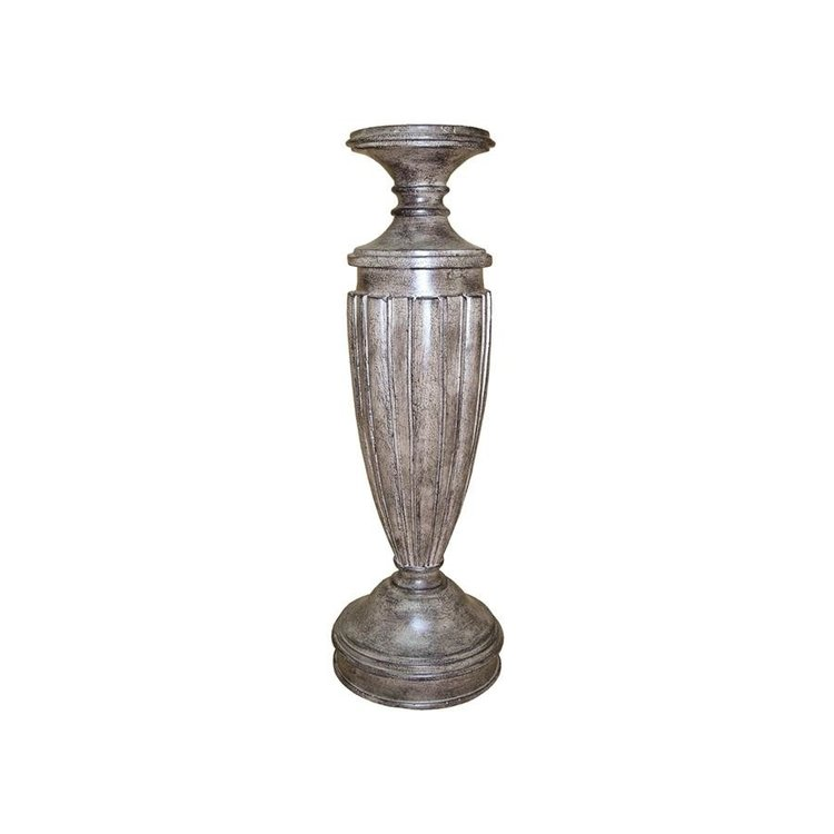 """View larger image of Fluted 16""""Candleholder"""