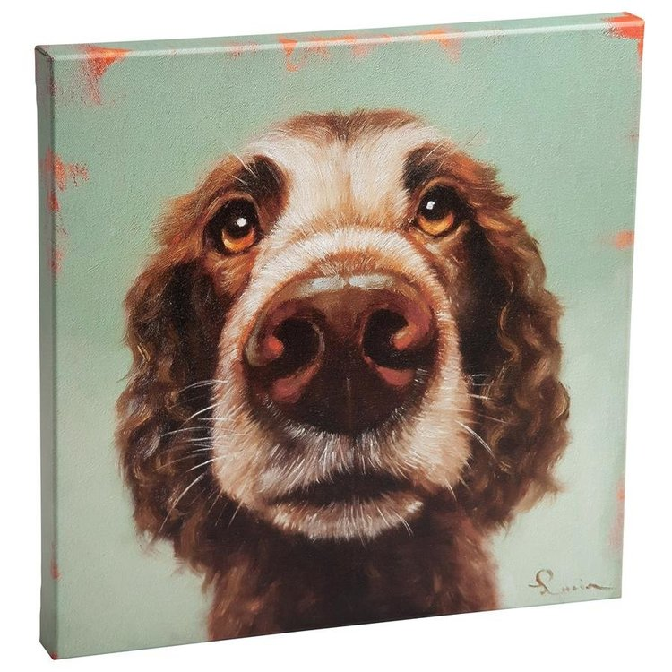 View larger image of Follow Your Nose, No. 14 Cocker Spaniel Dog Canvas Wrap Replica Painting: Small
