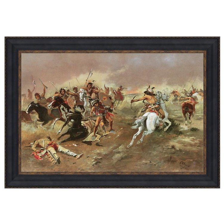 View larger image of For Supremacy, 1895: Canvas Replica Painting