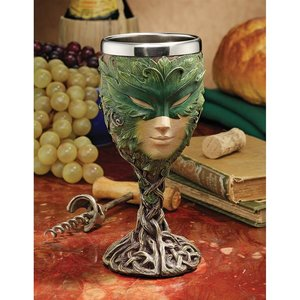 Forest Spirits Greenman Goblet Collection: Lady of the Leaf