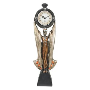 Fortune's Muse Sculptural Clock