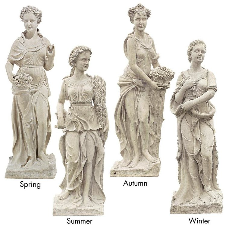 View larger image of The Four Goddesses of the Seasons Statue: All Four Season Statues