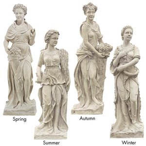 The Four Goddesses of the Seasons Statue: All Four Season Statues