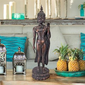 Free from Fear Standing Buddha Statue