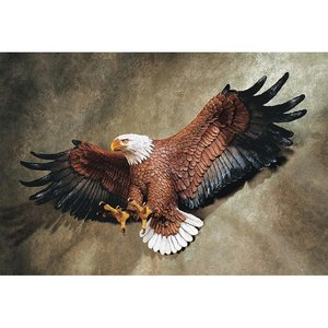 Freedom's Pride American Eagle Wall Sculpture: Large