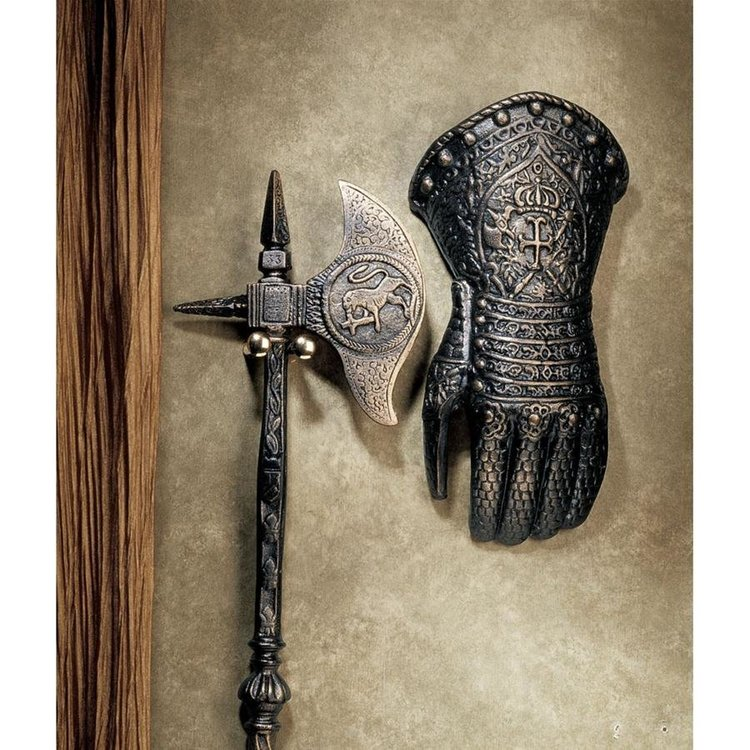 View larger image of French Gauntlet Iron Sculpture