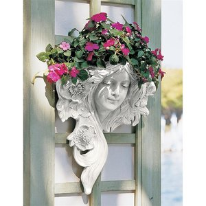 French Greenman Wall Sculpture LEtoile