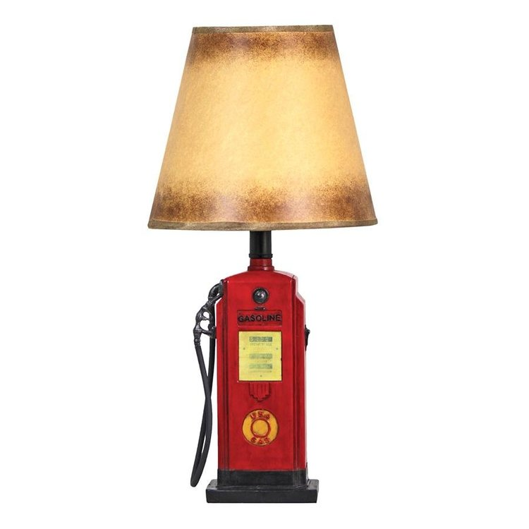View larger image of Retro Gasoline Pump Table Lamp