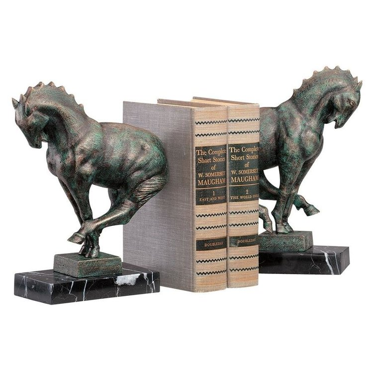 View larger image of Full Gallop Bookend Set