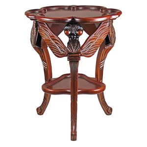 Galle Art Nouveau Dragonfly Occasional Table