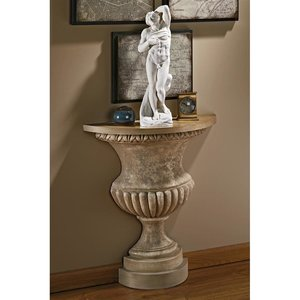 Garden of Versailles Wall Urn Console Table