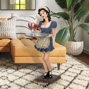 Genevieve Buxom French Maid Table