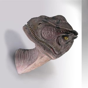 Giant Allosaurus Dinosaur Wall Trophy: Mouth Closed