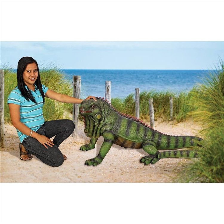 View larger image of Giant Iggy the Iguana Reptile Statue