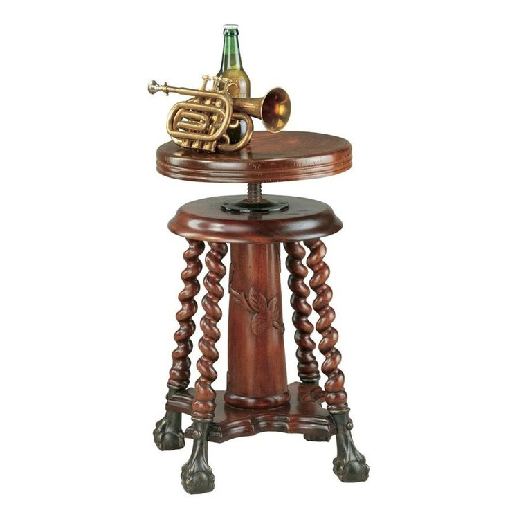 View larger image of The Gidley & Doyle Piano Stool Side Table