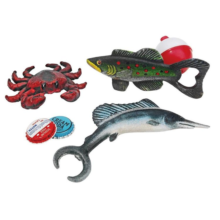 View larger image of Gifts from the Sea Cast Iron Bottle Openers