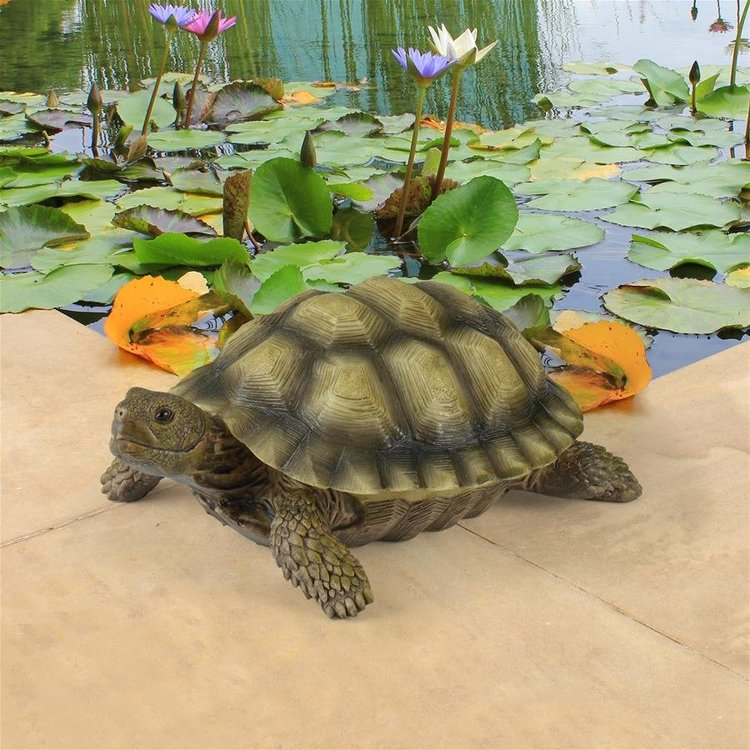 View larger image of Gilbert, the Box Turtle Statue