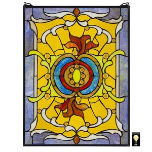Gilded Age Tiffany-Style Stained Glass Window