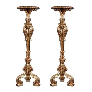 Gladstone Manor Torchiere Pedestal: Set of Two
