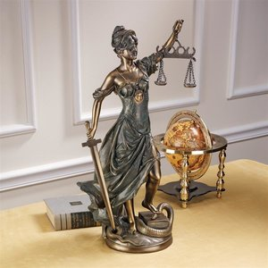 Themis, Goddess of Justice Statue: Large