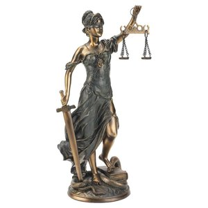 Goddess of Justice: Themis Statues