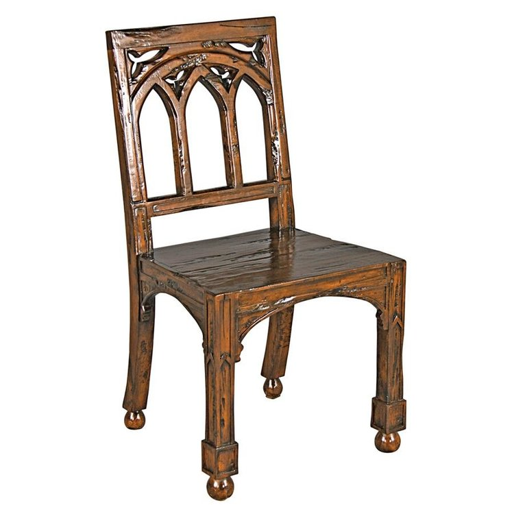 View larger image of Gothic Revival Rectory Chair