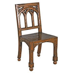 Gothic Revival Rectory Chair
