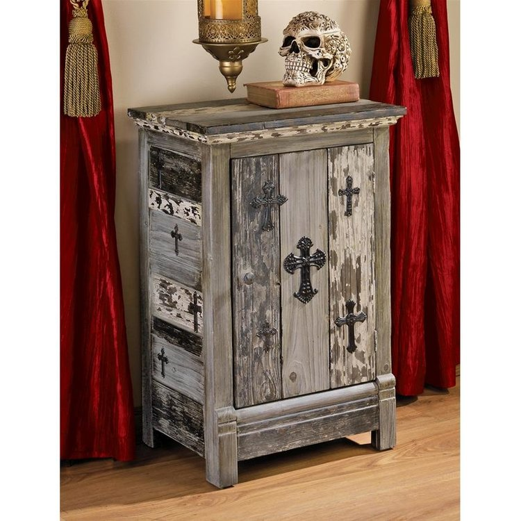 View larger image of Gothic Sanctuary Side Table Cabinet