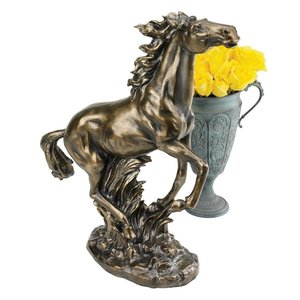 Grace and Beauty Stallion Horse Statue