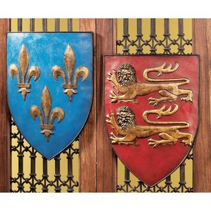 Grand Arms of France Wall Shield Collection
