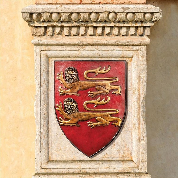 View larger image of Grand Arms of France Wall Shield Collection- Set of Two