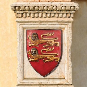 Grand Arms of France Wall Shield: William of Normandy