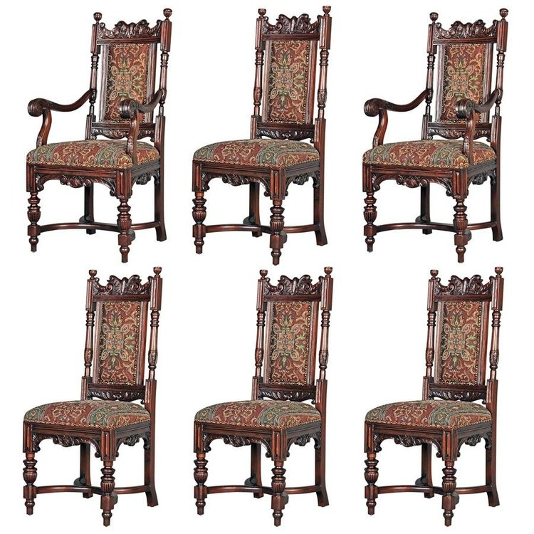 View larger image of Grand Classic Edwardian Dining Chairs: Collection