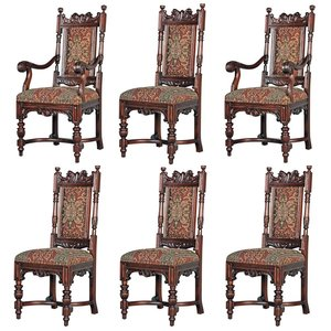 Grand Classic Edwardian Dining Chairs: Collection