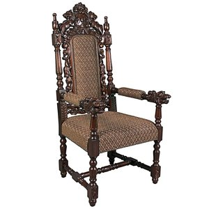The Grand Occasion Heraldic Arm Chair