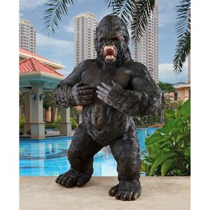 Great Ape Monster Jungle Animal Statue Collection: Giant