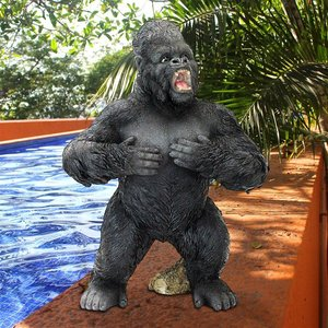 Great Ape Monster Jungle Animal Statue Collection: Large