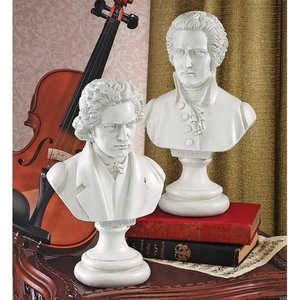 Great Composer Collection: Mozart and Beethoven Sculptures