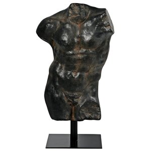 Greek Torso of a Youth Fragment Statue
