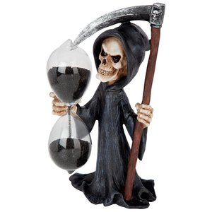 Grim Reaper, Time is Up Sand Timer Hourglass Statue