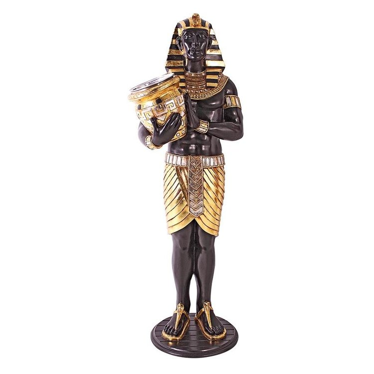 View larger image of Guardian Asar: Egyptian Wine Holder Statue