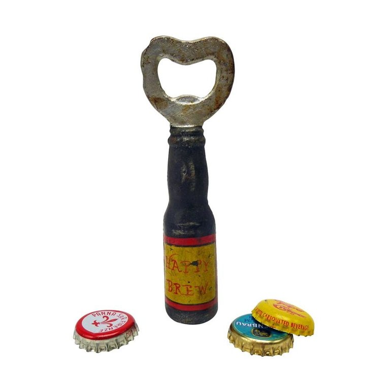 View larger image of Happy Brew Cast Iron Bottle Opener