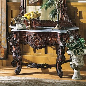 Hapsburg Marble Topped Console Table